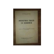 INDUSTRIA TIGLEI IN ROMANIA, TEZA DE DOCTORAT de CAZIMIR BRANISKI, BUC. 1935