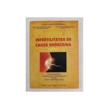 INFERTILITATEA DE CAUZA ENDOCRINA SYLLABUS , curs precongres , SINAIA , 2012
