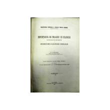 INFIINTAREA DE MAGAZII CU SILOZURI IN STATIILE CAILOR FERATE SI INTRODUCTIUNEA CLASIFICARII CEREALELOR   H.O. SCHLAWE