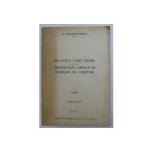 INFLUENTA CUREI MARINE ASUPRA DESVOLTARII COPIILOR IN PERIOADA DE CRESTERE de ALEXANDRU STROESCU , 1939