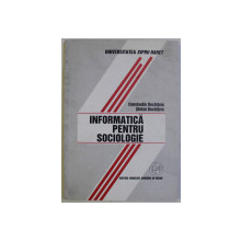 INFORMATICA PENTRU SOCIOLOGIE de CONSTANTIN DOCHITOIU si STEFAN DOCHITOIU , 2000