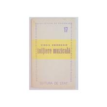 INITIERE MUZICALA de VIRGIL GHEORGHIU , 1946
