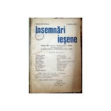 Insemnari iesene 1937   Revista bilunara