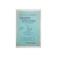 INSEMNARI SOCIOLOGICE, ANUL IV, NR. 2, 15 SEPTEMBRIE 1940