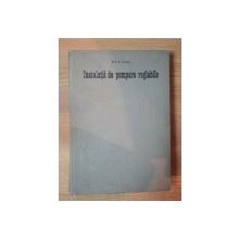 INSTALATII DE POMPARE REGLABILE de ION I. IONEL , 1976
