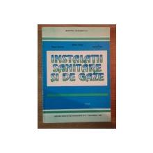 INSTALATII SANITARE SI DE GAZE de TRAIAN CRUCERU , STEFAN VINTILA ,  LUCIA ONCIU , 1995