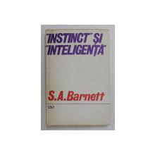 ' INSTINCT ' SI  ' INTELIGENTA  ' de S.A BARNETT , 1970
