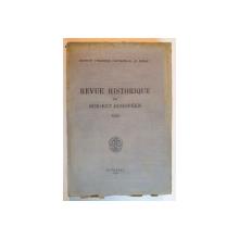 REVUE HISTORIQUE DU SUD -EST  EUROPEEN de N.IORGA ,volumul 13,fascicola 1-4,1938
