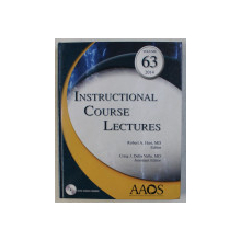 INSTRUCTIONAL COURSE LECTURES VOL. 63 by ROBERT A. HART , CRAIG J. DELLA VALLE , 2014 + DVD
