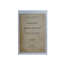 INSTRUCTIUNI SI INDICATOARE PROGRAMATICE PENTRU EXAMENELE DE BACALAUREAT ( PUBLICATE IN MONITORUL OFICIAL NO. 93 DIN 30 APRILIE 1927 ) , 1927