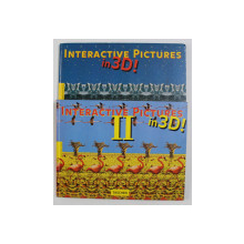 INTERACTIVE PICTURE IN 3 D ! TWO VOLUMES , 1994, TEXT IN ENGLEZA , GERMANA , FRANCEZA