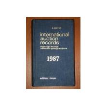 INTERNATIONAL AUCTION RECORDS 1987 de E. MAYER
