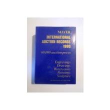 INTERNATIONAL AUCTION RECORDS 1990, 60000 AUCTION PRICES, ENGRAVINGS DRAWINGS WATERCOLORS PAINTINGS SCULPTURE  de E. MAYER