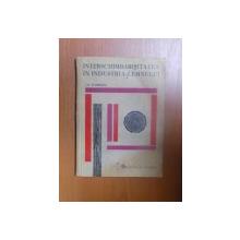 INTERSCHIMBABILITATEA IN INDUSTRIA LEMNULUI de ION P. FLORESCU , 1965