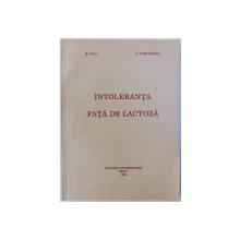 INTOLERANTA FATA DE LACTOZA de M. DEAC si D. DUMITRASCU , 1994