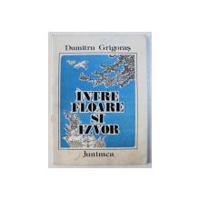 INTRE FLOARE SI IZVOR de DUMITRU GRIGORAS . ilustratii de GEORGE SCUTARU , 1986
