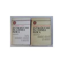 INTRODUCERE IN CHIMIA FIZICA , VOLUMUL II , PARTILE I - II de I. G. MURGULESCU si E. SEGAL , 1979