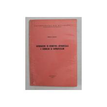 INTRODUCERE IN GEOMETRIA DIFERENTIALA A CURBELOR SI SUPRAFETELOR de MIRCEA MARTIN , 1976