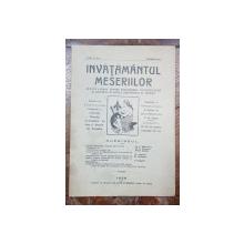 INVATAMANTUL MESERIILOR, ANUL V, NR. 1, IANUARIE 1926