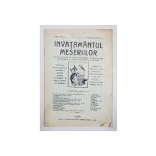 INVATAMANTUL MESERIILOR, ANUL V, NR. 2,3, FEBRUARIE-MARTIE 1926