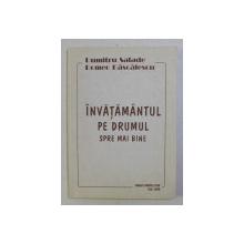 INVATAMANTUL PE DRUMUL SPRE MAI BINE de DUMITRU SALADE , ROMEO DASCALESCU , 2000 DEDICATIE*