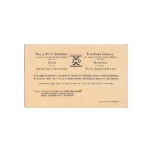 INVITATIE LA CUNUNIE RELIGIOASA , NASI - D-NA SI DL. DIMITRIE GUSTI , 1937
