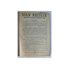 ' IOAN NECULCE '  - BULETINUL MUZEULUI MUNICIPAL IASI , COLEGAT DE TREI NUMERE , FASCICULELE 5 , 6 , 7 , 1925 - 1928