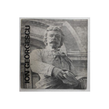 ION GEORGESCU de MARIN MIHALACHE , 1983 , DEDICATIE *
