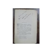 Ionel Teodoreanu, Fragment din Ulita copilariei cu dedicatia autorului