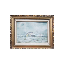 IOSIF STEURER (1885-1971), Peisaj de iarna