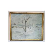 Iosif Steurer (1885-1971) - Peisaj de Iarna