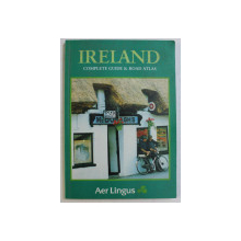 IRELAND  - COMPLETE GUIDE and ROAD ATLAS , 1995