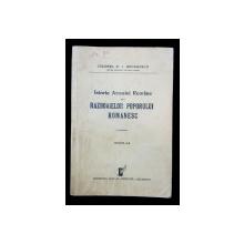ISTORIA ARMATEI ROMANE SI A RAZBOAIELOR POPORULUI ROMANESC de COLONEL D. I. GEORGESCU - BUCURESTI, 1936