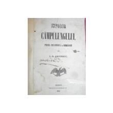 ISTORIA CAMPULUNGULUI - PRIMA REZIDENTA A ROMANIEI - C.D. ARICESCU - BUCURESTI 1856