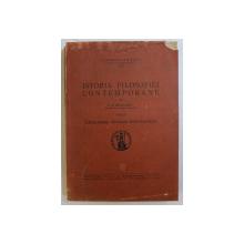 ISTORIA FILOSOFIEI CONTEMPORANE VOL. II - IDEALISMUL GERMAN POST-KANTIAN de P. P. NEGULESCU , 1942