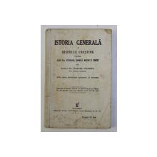 ISTORIA GENERALA A BISERICII CRESTINE PENTRU CLASA III - A SECUNDARA , NORMALA , MESERII SI COMERT de DUMITRU STANESCU , 1936