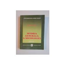 ISTORIA GENERALA A SOCIOLOGIEI de STEFAN COSTEA, 2004