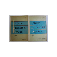 ISTORIA LITERATURII ROMANE VOL. I - II (1900-1918) de D. MICU , 1965