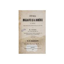 ISTORIA MOLDAVIEI SI A ROMANIEI DE N. CARRA - BUCURESTI, 1857