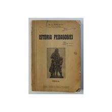 ISTORIA PEDAGOGIEI - N. C. ENESCU  1933, DEDICATIE