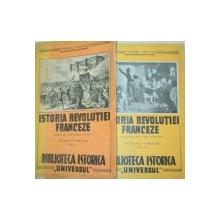 ISTORIA REVOLUTIEI FRANCEZE-THOMAS CARLYLE  2 VOL  1944