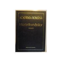 ISTORIA ROMANILOR.VOL. V   BUCURESTI 2003