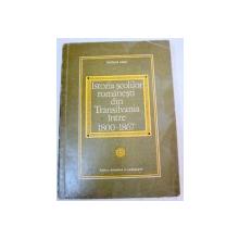 ISTORIA SCOLILOR ROMANESTI DIN TRANSILVANIA INTRE 1800-1867-NICOLAE ALBU  BUCURESTI 1971