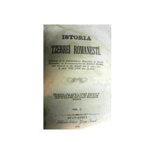 ISTORIA TZERREI ROMANESTI GEORGE IOANID , VOL II , 1859