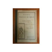 ISTORIA VEACULUI DE MIJLOC SI ISTORIA MODERNA PANA LA 1648 PENTRU CLASA II SECUNDARA de VASILE T. DIMITRESCU  1911