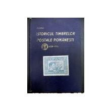 Istoricul timbrelor postale romanesti 1858 -1938  P.Murea