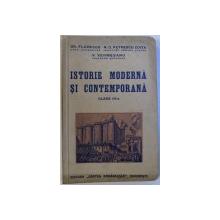 ISTORIE MODERNA SI CONTEMPORANA  - CLASA III - A de GR. FLORESCU si V. VERMESANU , 1937