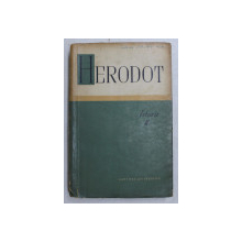 ISTORII-HERODOT  VOL II , CONTINE SUBLINIERI SI ADNOTARI IN TEXT