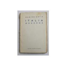 ITALIA MODERNA de RAMIRO ORTIZ , 1925