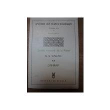 IZVOARELE ALE MUZICII ROMANESTI VOL. III B de GHEORGHE CIOBANU , MARIN IONESCU , TITUS MOISESCU , Bucuresti 1984